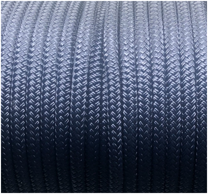 Polyester Double Braided – AB Black Empire Ropes
